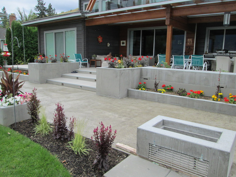Patios & Tiled Concrete